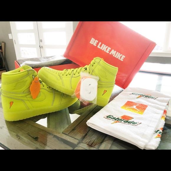 Neon Nwt 7 Air 1 5m Jordan Gatorade Edition Yellow zpSMVqUG